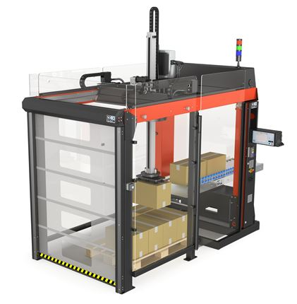 SOCO SYSTEM single palleteringsrobot.
